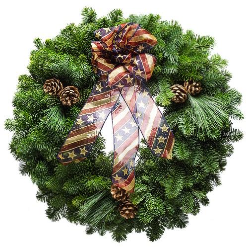 America the Beautiful Wreath